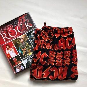 Vintage AC/DC pyjamas bottoms